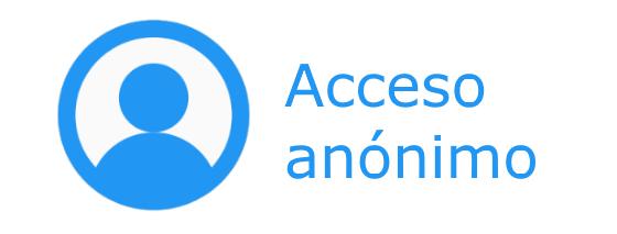 Icono acceso anónimo